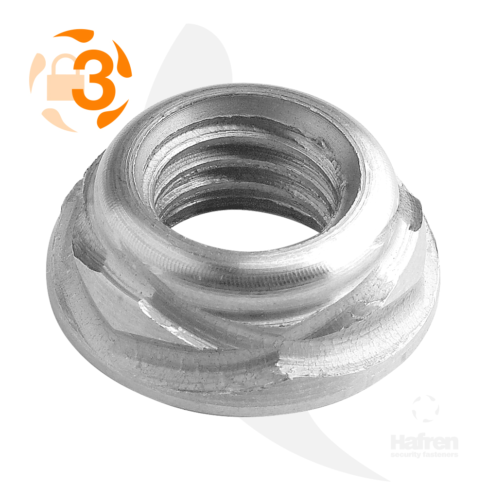 M3 Stainless Steel Scroll™ Nut