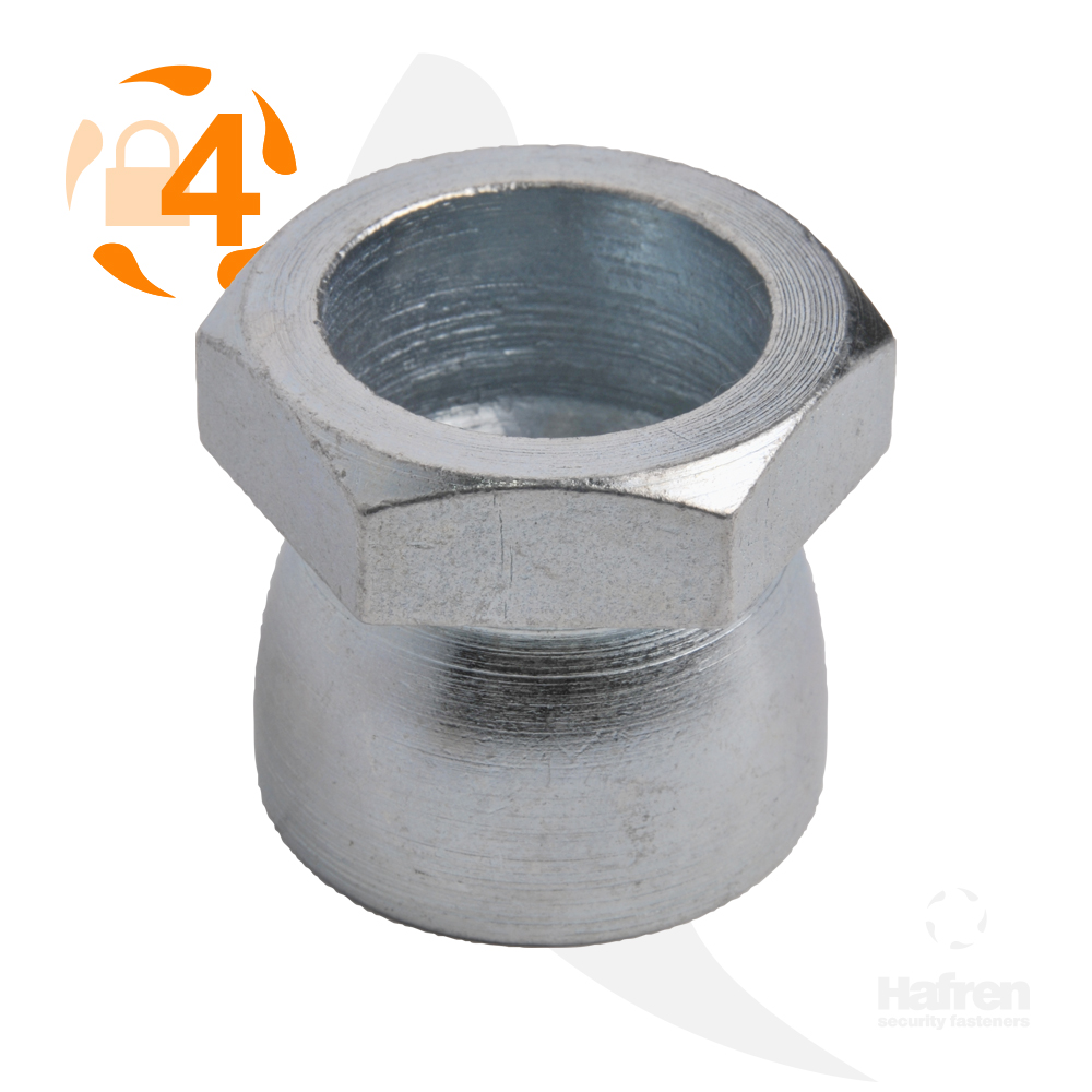 M6 Bright Zinc Plated Shear Nut