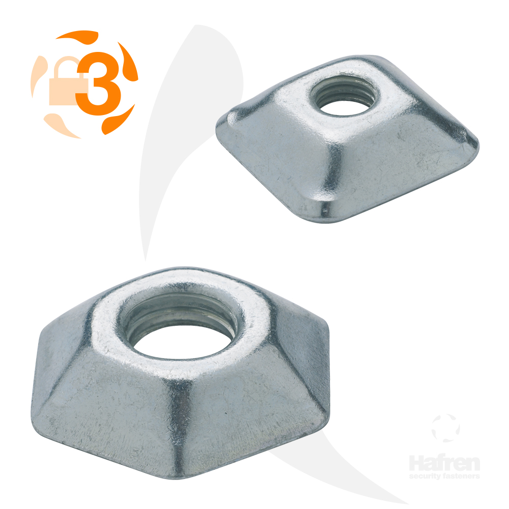 M6 Bright Zinc Plated Tufnut™
