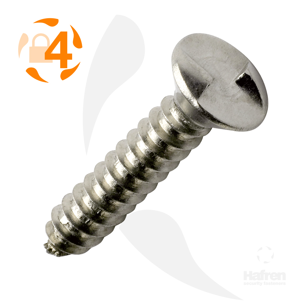"6 x 3/4"" (3.5 x 19mm) Countersunk A2 Stainless Steel Clutch Head Self Tapper"
