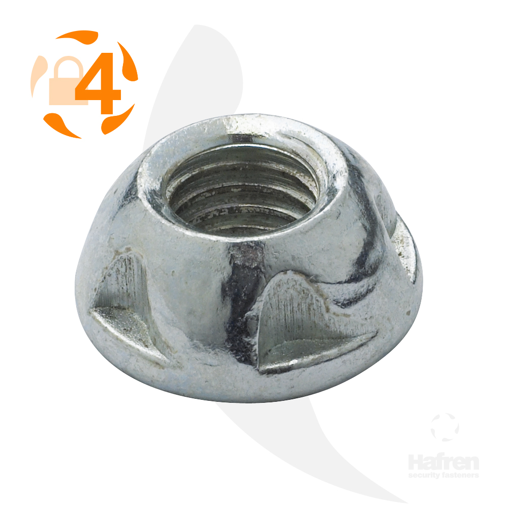 M5 Case Hardened Steel Zinc Plated Kinmar® Removable Nut