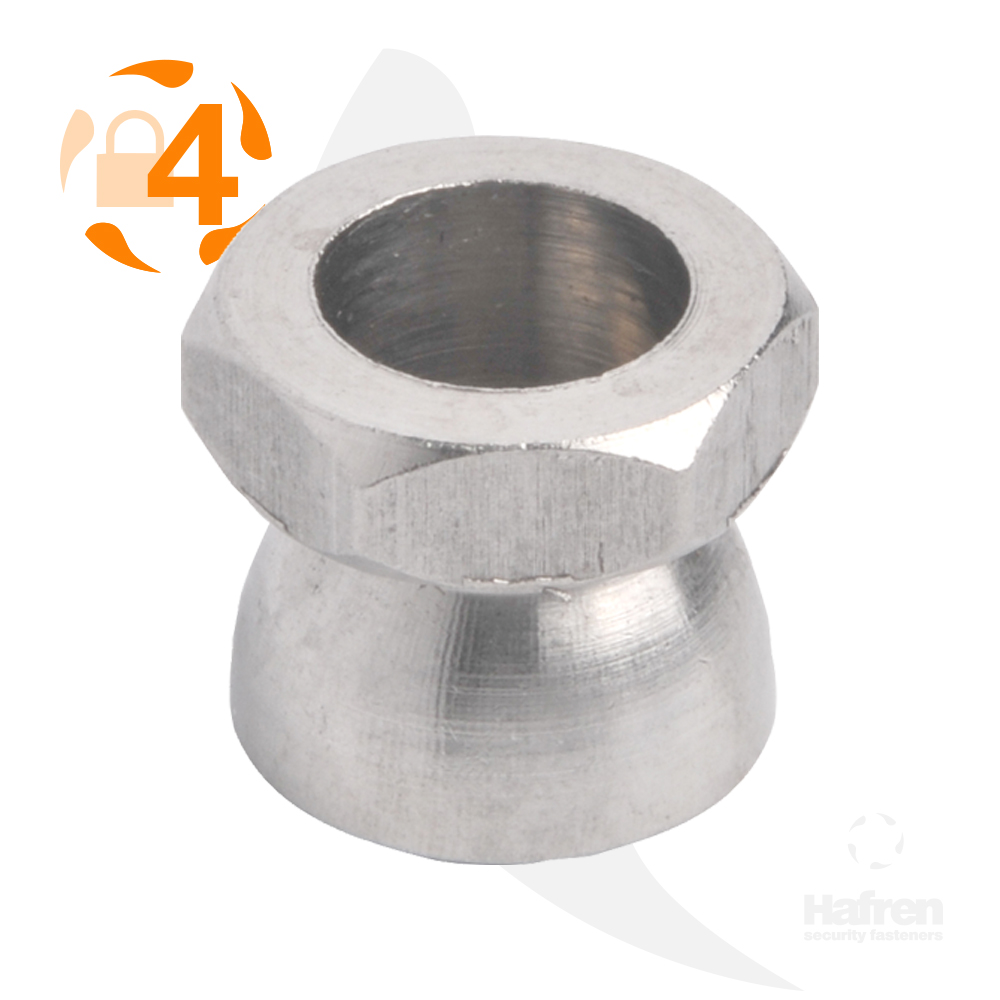 M6 A4 Stainless Steel Shear Nut