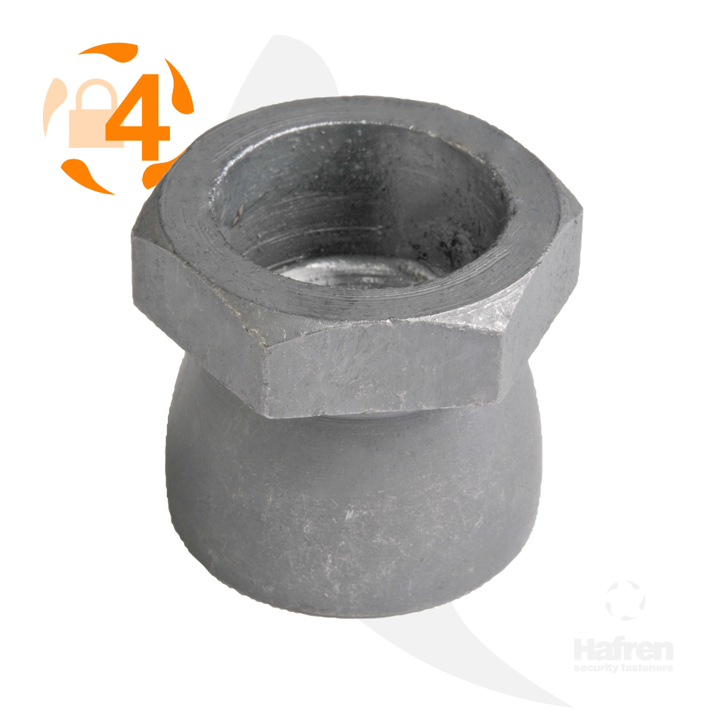 M8 Galvanised Shear Nut