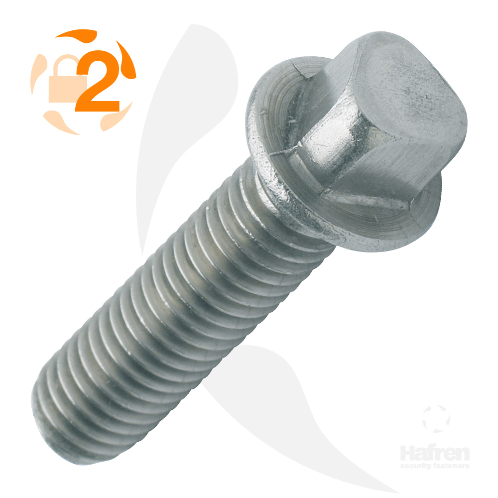 M8 x 20mm A2 Stainless Steel Tri-Head Machine Screw
